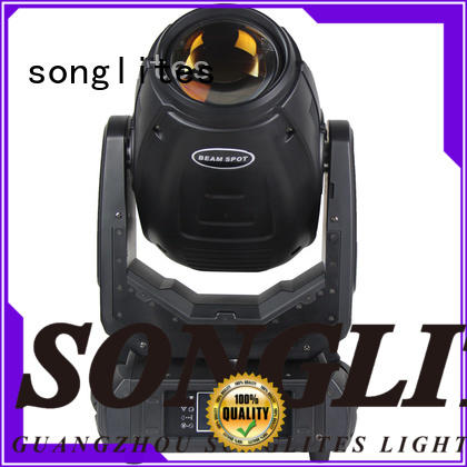 Songlites attractive wireless led stage lights 380 for stage