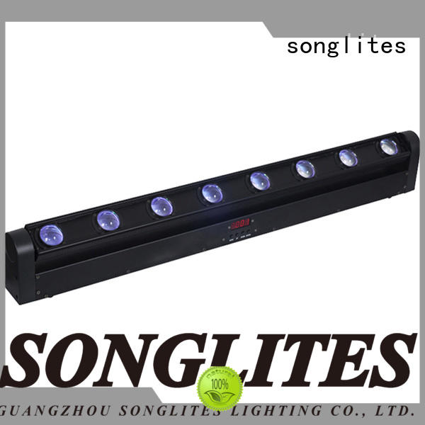 Songlites bigeye lights in ceiling beams disco light for bands