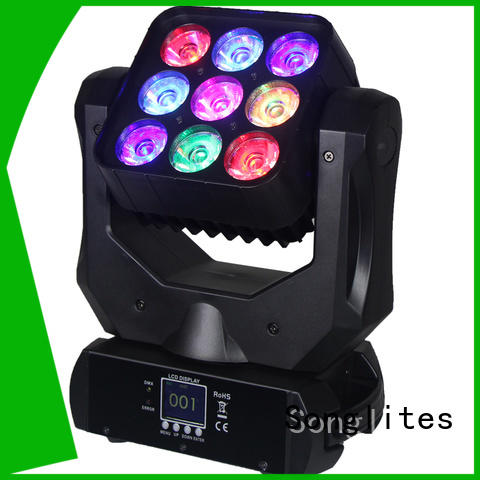 Songlites auto-mode stage disco lights speed adjustable for large concerts
