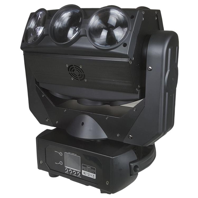 Songlites 9PCS 10W RGBW CREE Beam Moving Head Light SL-1209 Beam Effect Moving Head Light image39