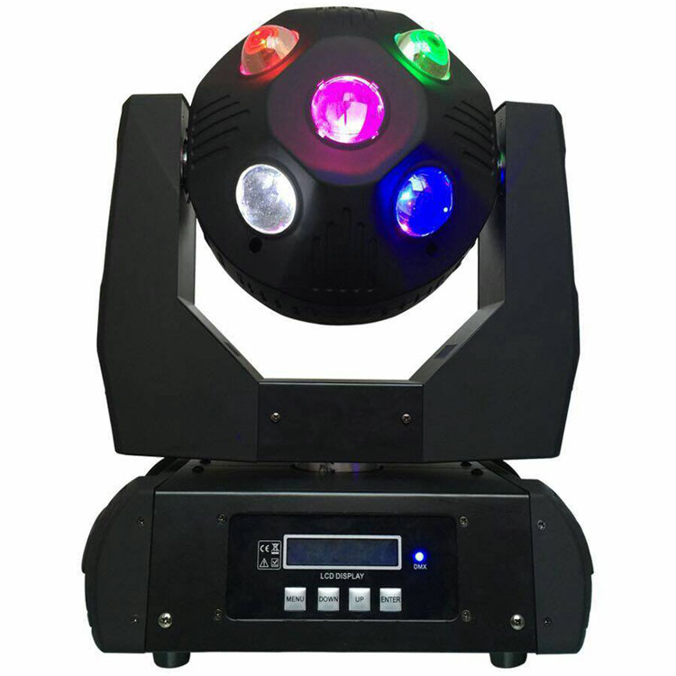 Songlites 10PCS 20W RGBW Football Beam Moving Head Light SL-1040 Beam Effect Moving Head Light image36