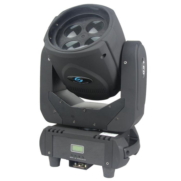 Songlites 4PCS 25W White LED Beam Moving Head Light SL-1034 Beam Effect Moving Head Light image35