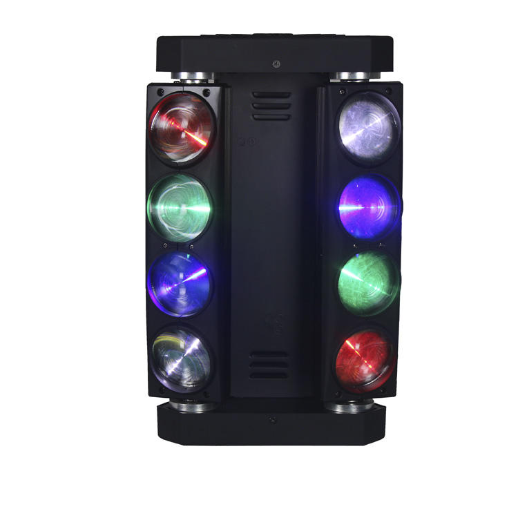 Moving Head Light 8PCS 12W RGBW 4IN1 LED Beam SL-1028C-4IN1