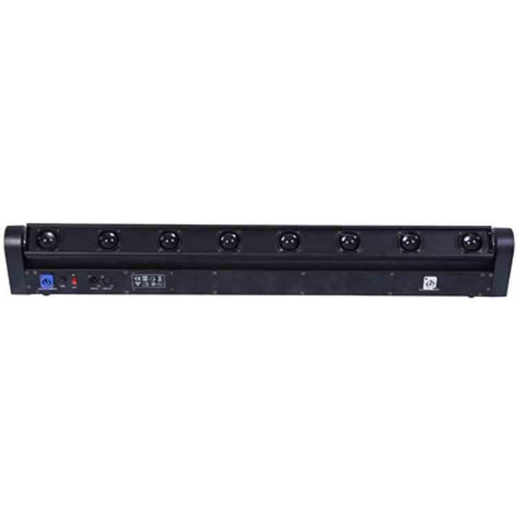 8PCS Moving Head Light 10W 4 In1 LED Beam SL-1018