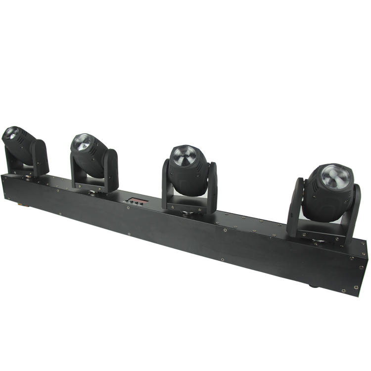 Beam Moving Head Light 4PCS 10W RGBW LED SL-1019