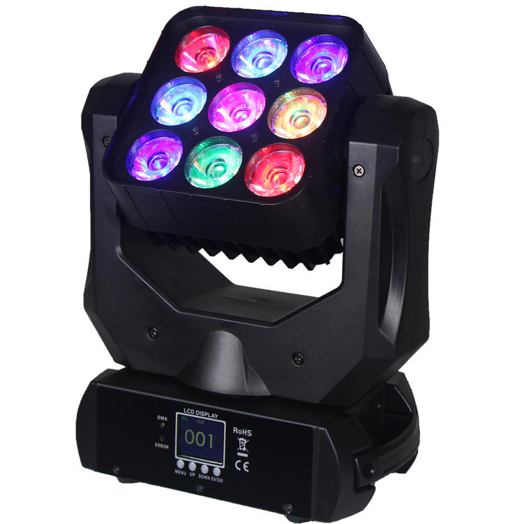 120W Moving Head Light CREE 4 In1 LED Wash SL-1032