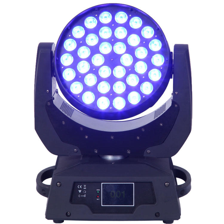36PCS Moving Head Light 10W 4 In1 LED Wash SL-1006A-4IN1