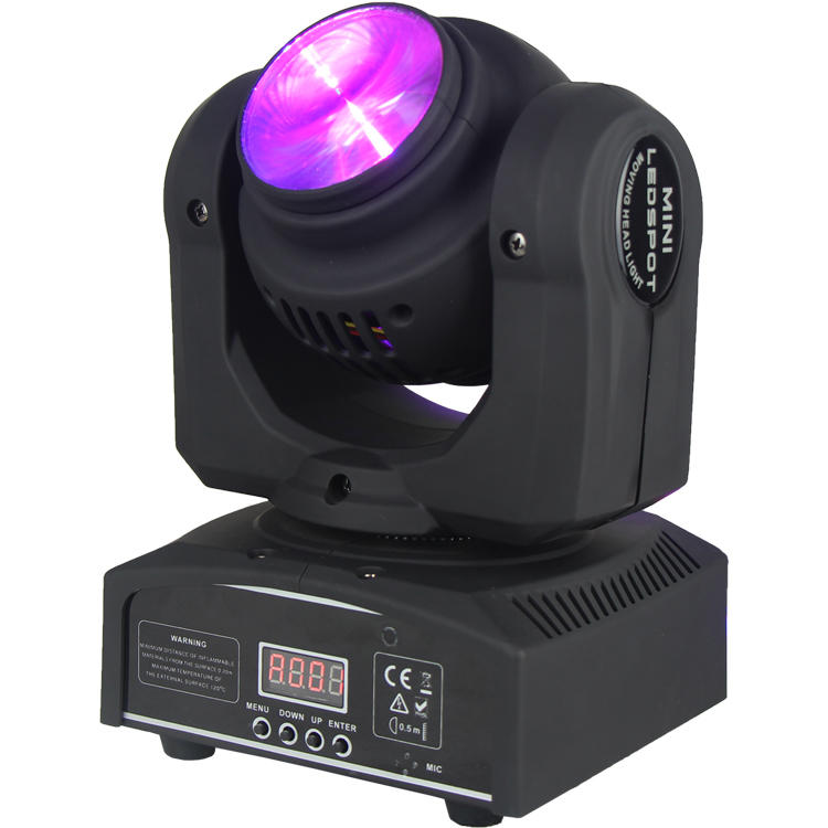 4 In1 Moving Head Light 12W CREE Wash LED Double Face SL-1033