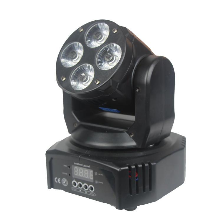 Wash Moving Head Light 4PCS 10W RGBW LED Mini SL-1044