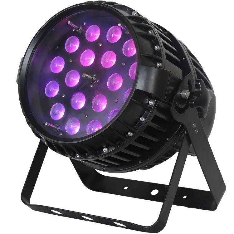 18PCS 10W 4 In1 LEDs Outdoor Par Can Light SL-2022