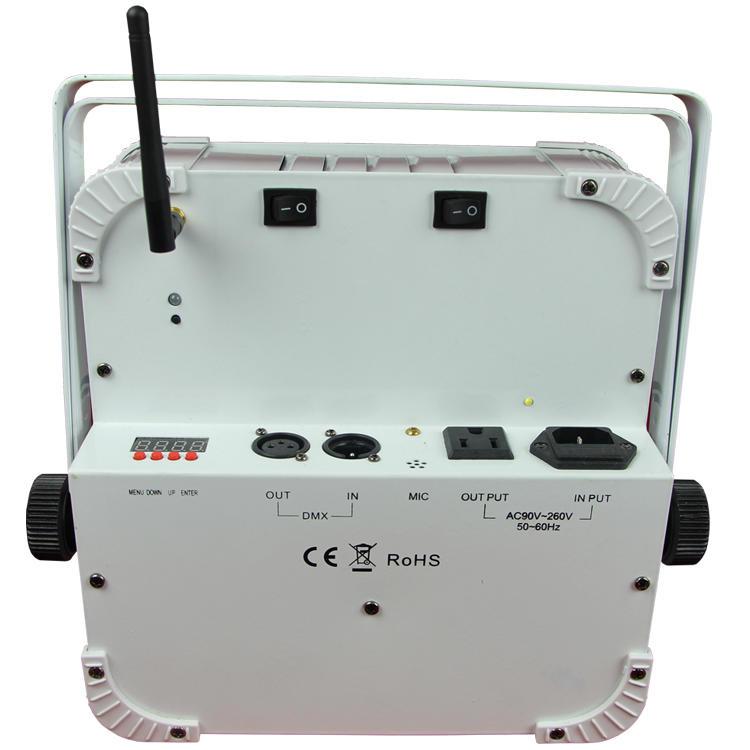 12PCS LEDs Indoor Wireless Battery Par Can SL-3118