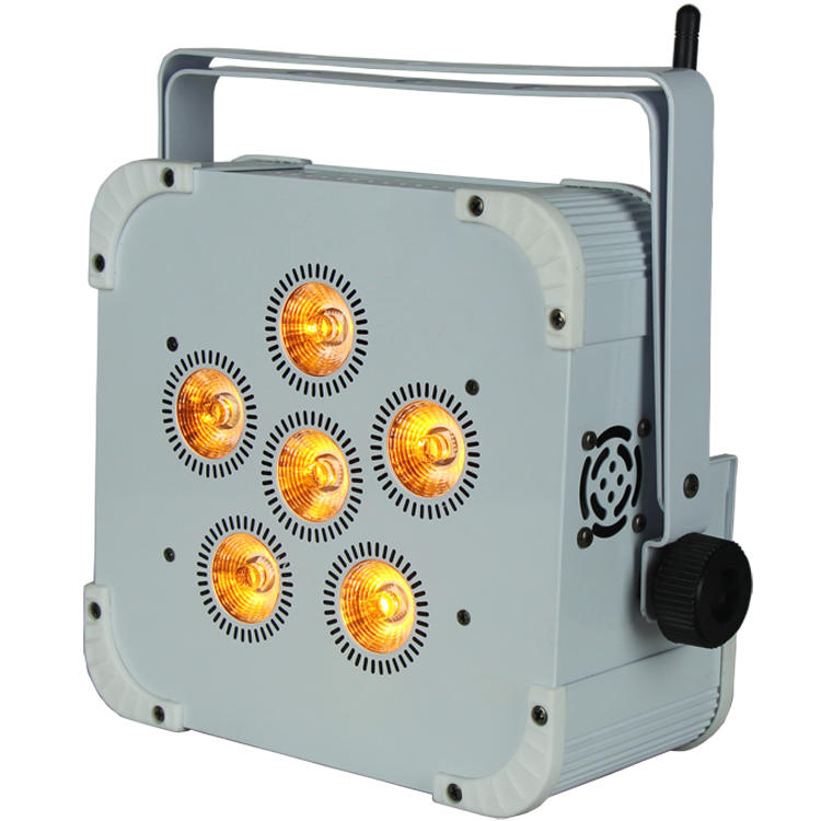 6PCS LEDs Wifi Wireless Battery Par Can Light SL-3615