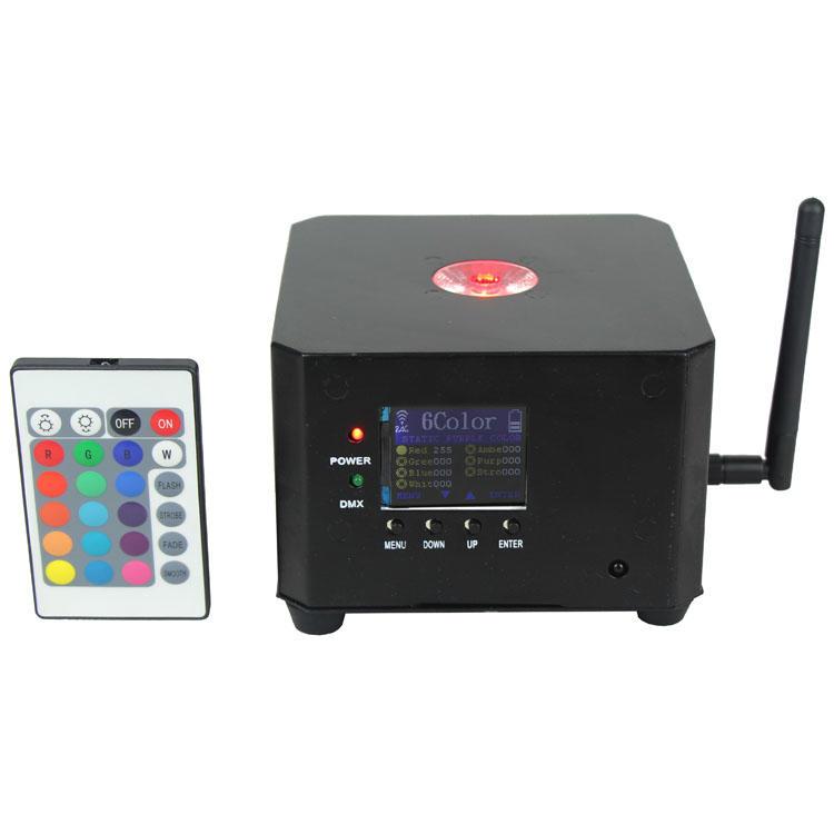 10W RGBW LEDs  Remote Wireless Battery Par Can SL-3110