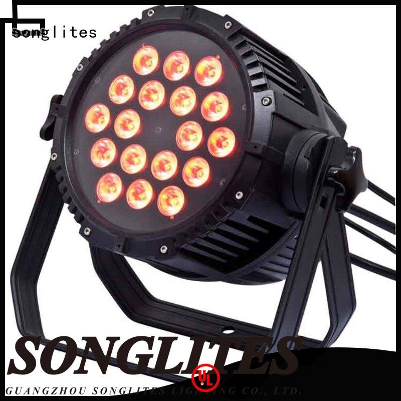 Songlites remote control outdoor entrance lighting fixtures Low noise for courtyard