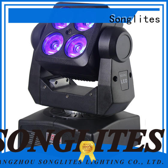 Songlites cree rotating stage lights supply for bars
