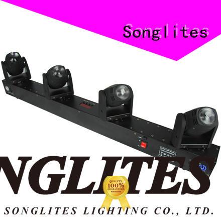 Songlites moving bolt beam led light promotion for concerts
