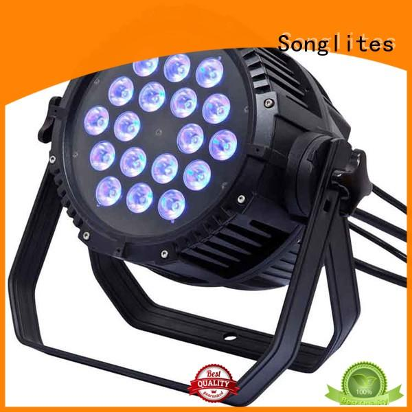 in1 10w cheap outdoor led lights rgbwauv Songlites company