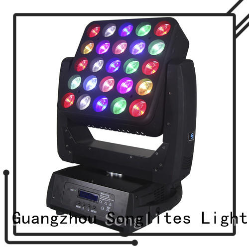 Songlites controllable stage disco lights supply for ballroom