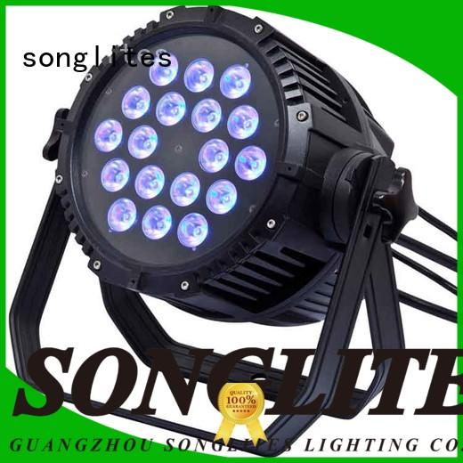 outdoor house spotlights 18w pan Songlites Brand cheap outdoor led lights