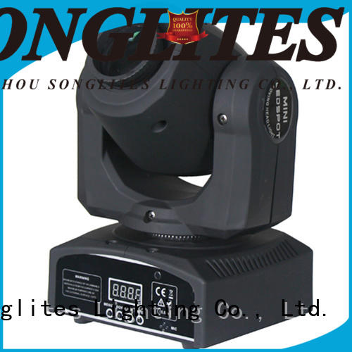 Songlites low noise moving led lights directly price for night club
