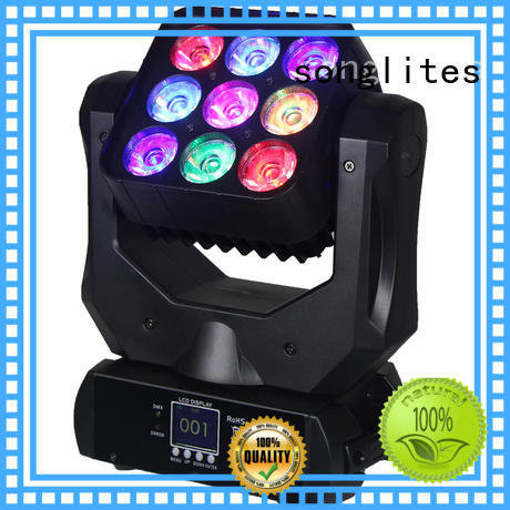cree Custom moving in1 stage disco lights Songlites wash