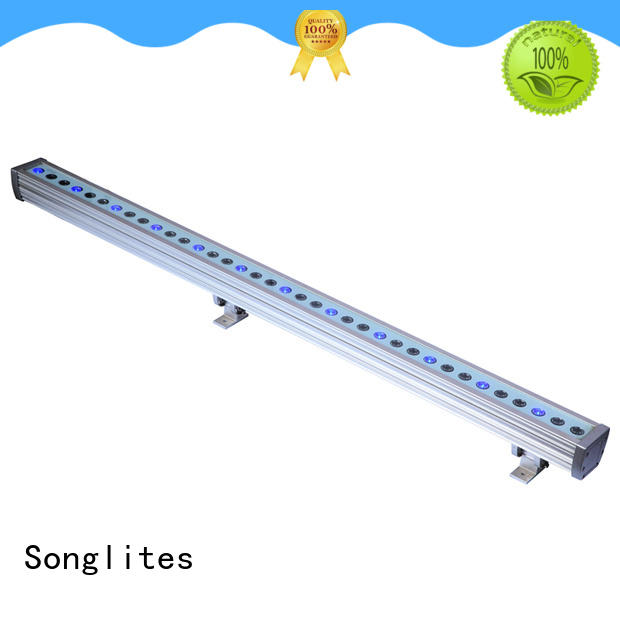 Songlites 3050w rgb led wall washer outdoor onlion for entertainment plaza