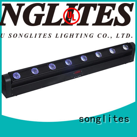Songlites football moving led bar promotion for stage