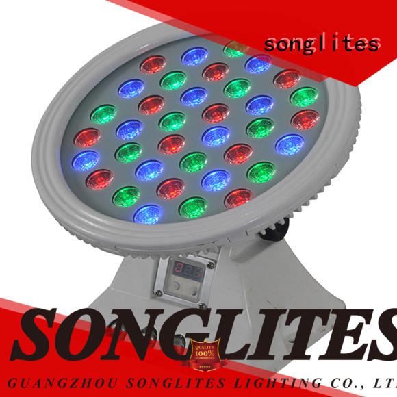 Songlites 3610w wireless led outdoor lights versatility for botanical garden
