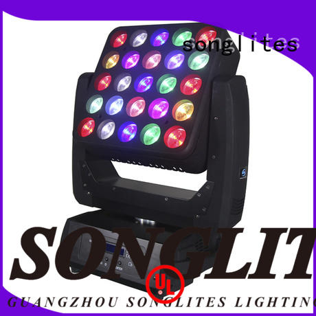 Songlites led cheap led stage lights versatility for ballroom