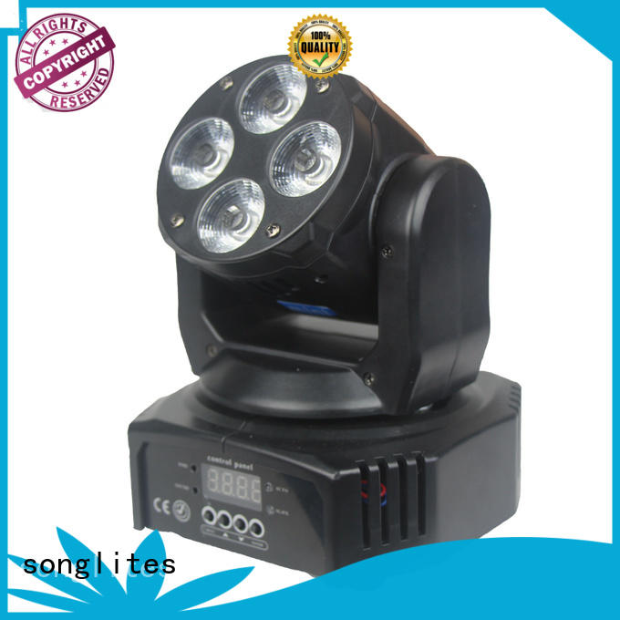 Songlites Brand wash head mini 12w moving stage lights
