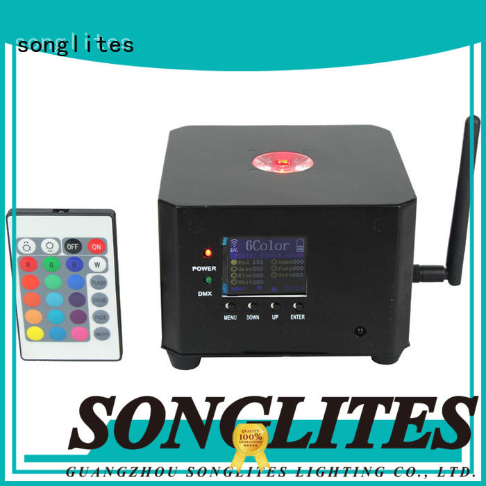 Custom rgbw indoor indoor party lights Songlites leds