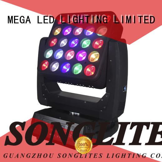 movable stage lights 9pcs 4pcs in1 Songlites