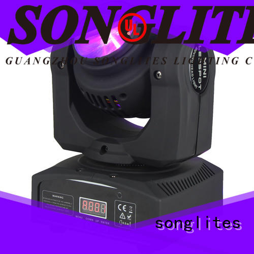 Songlites professional moving spotlight for photography for slow rocking