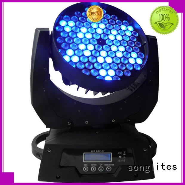 Songlites head white moving heads equipment for disco (Disco )