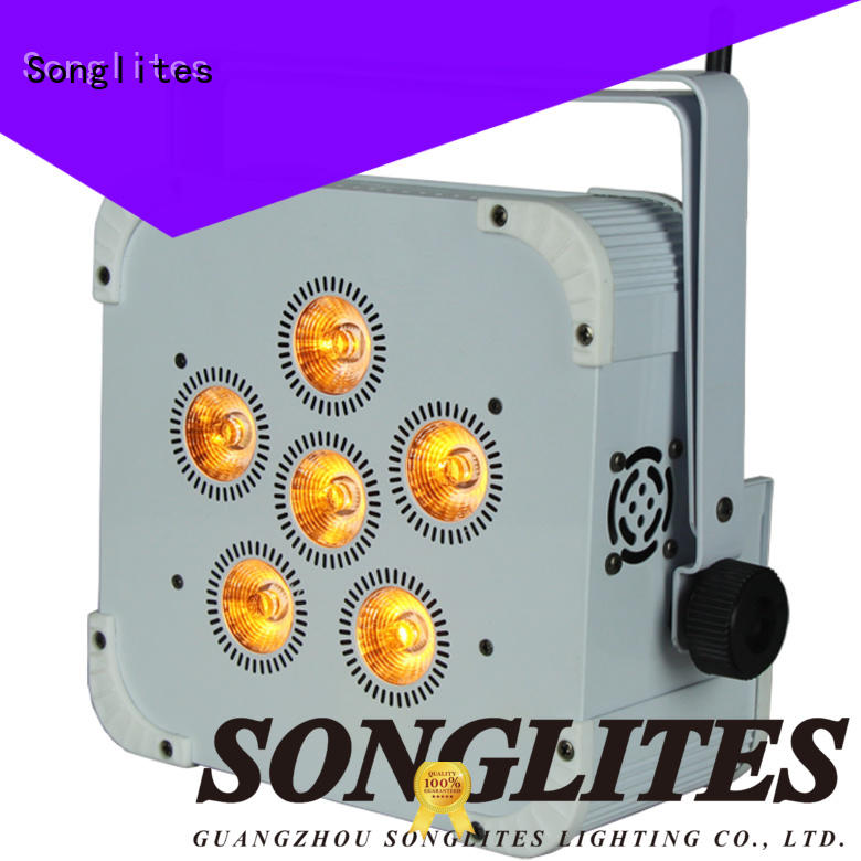 Songlites rgbw indoor motion sensor light adjustable speed for shopping centers