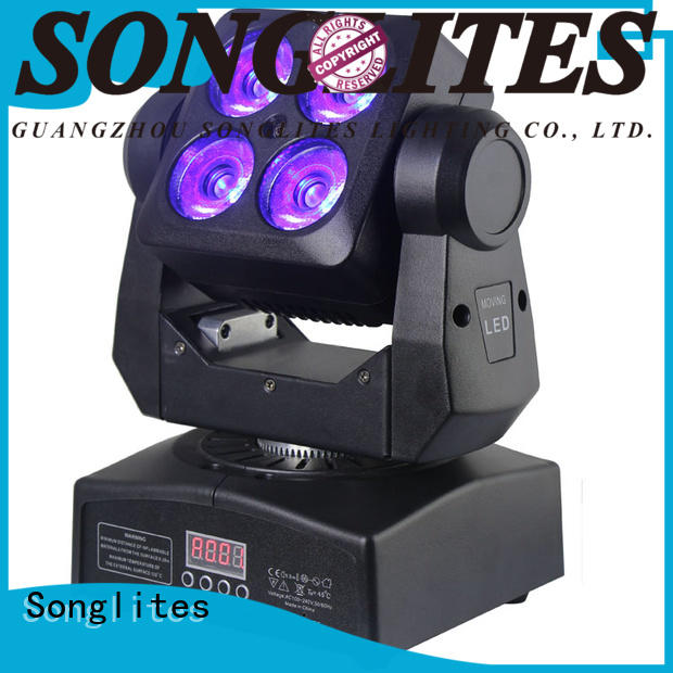 Songlites cree movable stage lights speed adjustable for bars