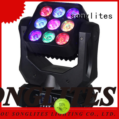 Songlites endless led light moving supply for ballroom