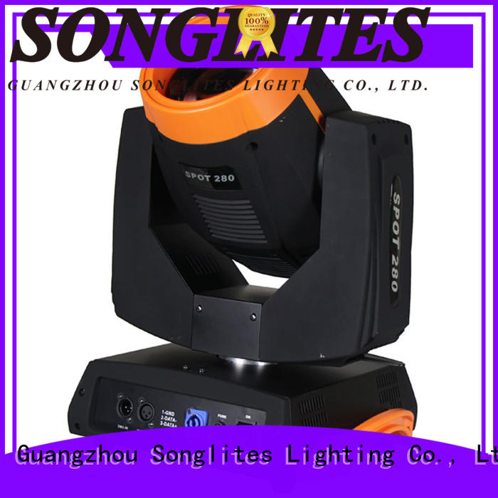 Songlites Electronic led lights for stage use orientable for performances