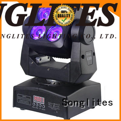 Songlites wash led moving head wash light supply for mobile shows,
