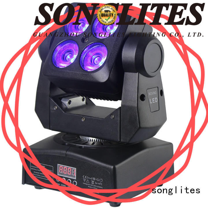 Songlites High brightness laser moving head for sale for ballroom