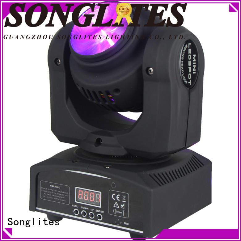 Custom pocket moving stage lights 15w Songlites
