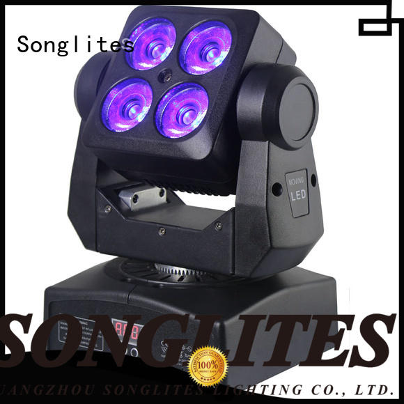 Songlites High brightness professional stage lighting systems versatility for mobile shows,