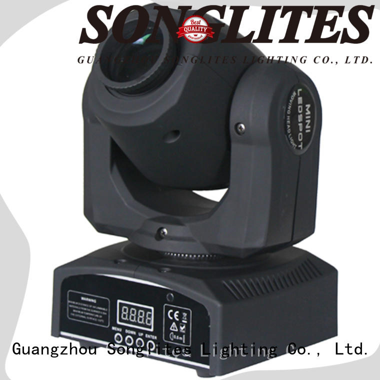 Songlites price 90w led moving head spot manufacturer for stage