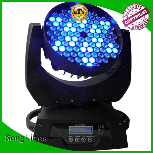 Songlites Brand in1 moving stage lights 15w factory