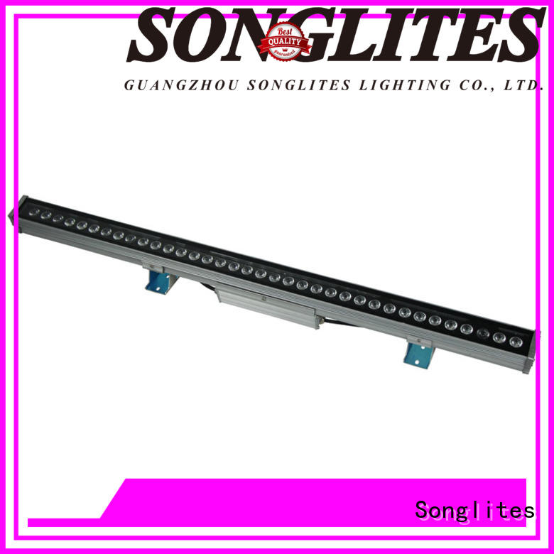 Songlites perfect led outdoor landscape lighting versatility for entertainment plaza