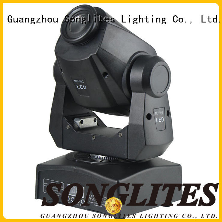 Songlites high-brightness spot moving head light manufacturer for party