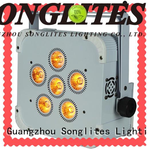Beautiful dmx led par lights indoor low noise for shopping centers