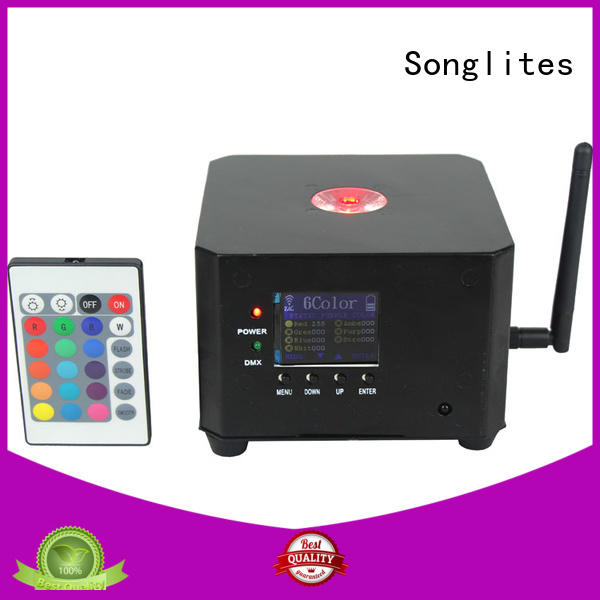 rgbw wireless can Songlites Brand indoor party lights supplier