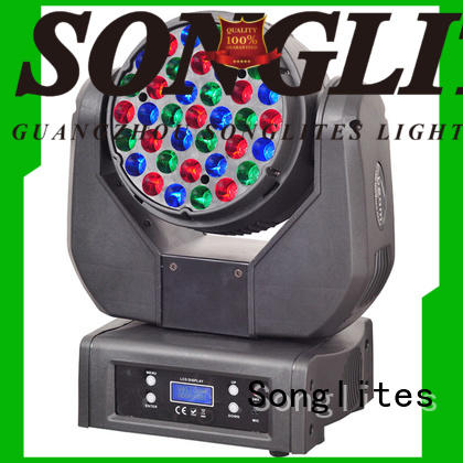 Songlites 12w dj moving light price onlion for dance halls