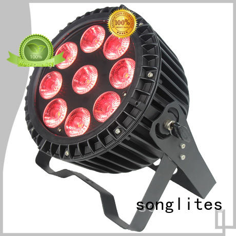 Hot outdoor house spotlights 18w 4in pan Songlites Brand